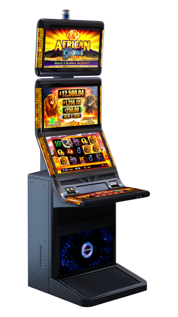 African Gems game cabinet