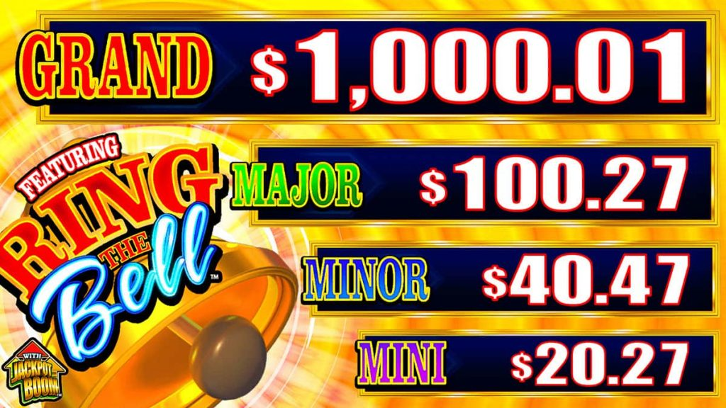 Bells Gone Wild Featuring Ring The Bell Jackpot Listings