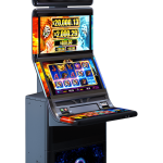 Blaze and Frost game cabinet