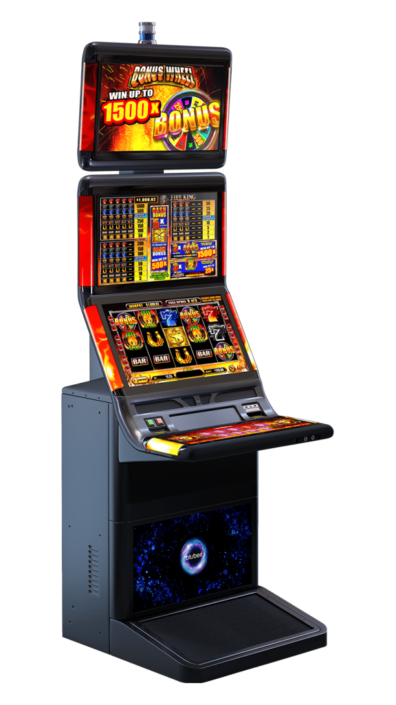 Fire King game cabinet