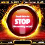 Fire King gaming screen