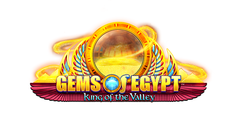 Gems Of Egypt King Of The Valley logo