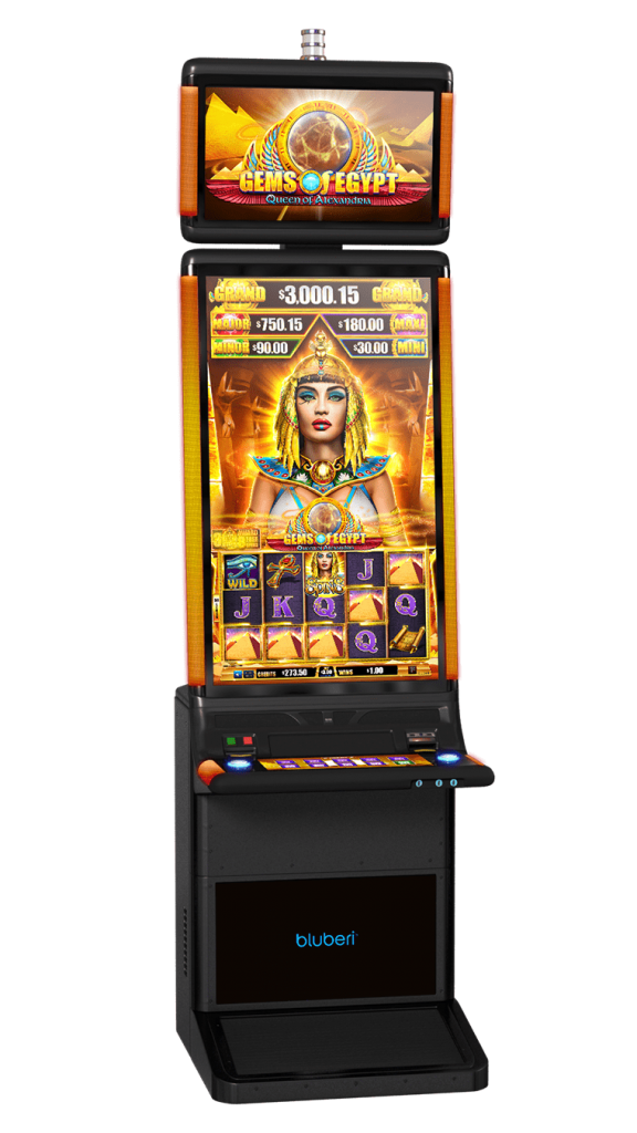 Gems Of Egypt Queen game cabinet
