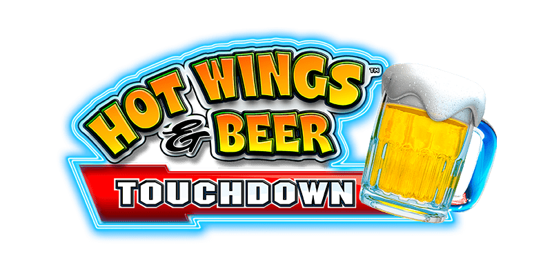 Hot Wings & Beer Touchdown logo