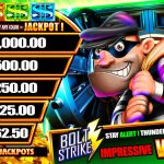 Into The Vault Jackpot Listings screen