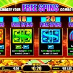 Into The Vault Free Spins screen
