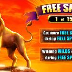 Lions Realm Free Spins screen