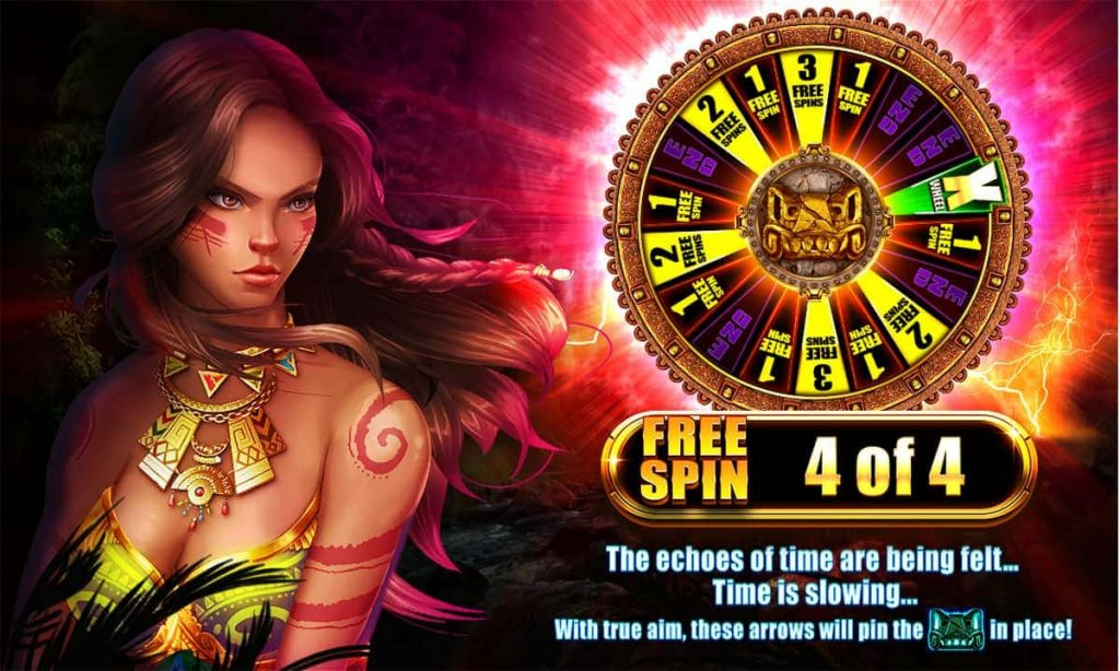 Temple Of Echoes Free Spin screen