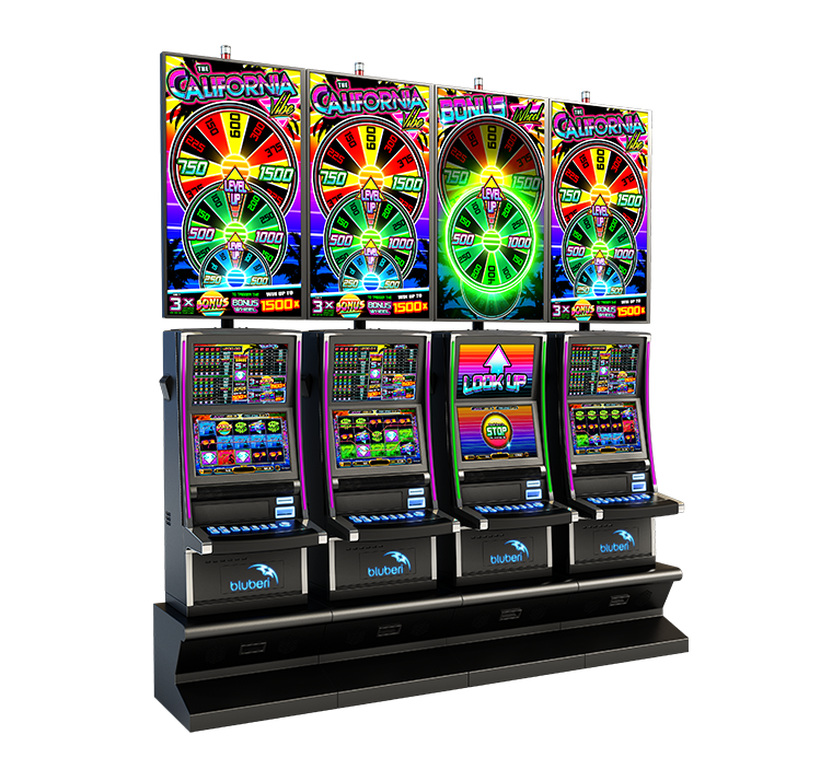 The California Vibe game cabinet