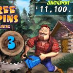 Timber Jack free spins screen