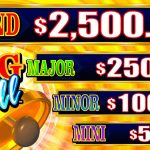 Timber Jack Ring The Bell Jackpot Listings screen