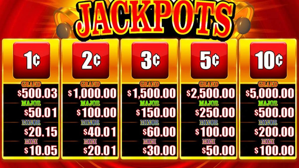 Timber Jack Ring The Bell Jackpots screen