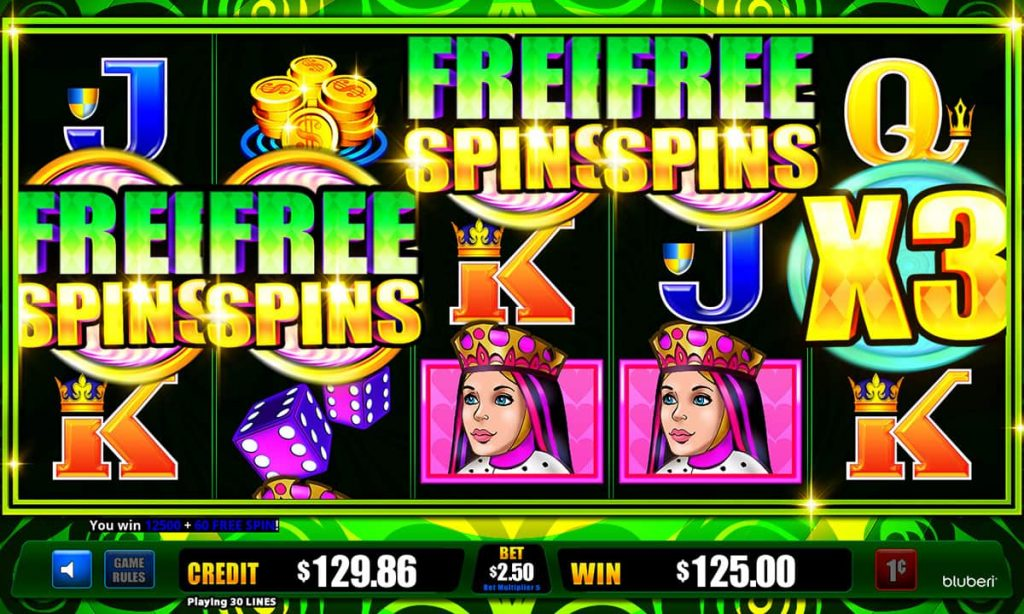 Twisted Deals Free Spins screen