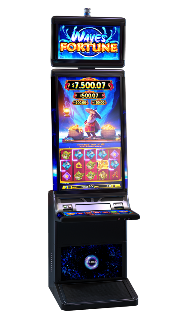 Waves Of Fortune game cabinet