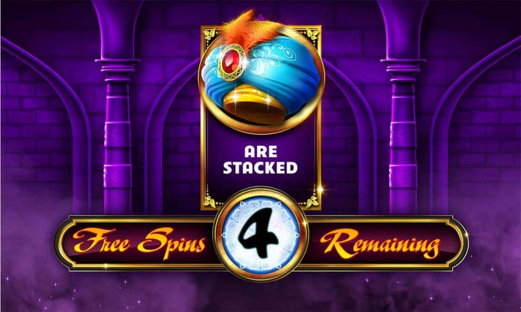 Wishes And Destinies Free Spins Remaining screen