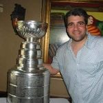 John with Stanley Cup